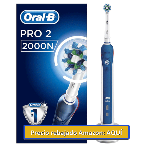 cepillo dental eléctrico oral b pro 2000