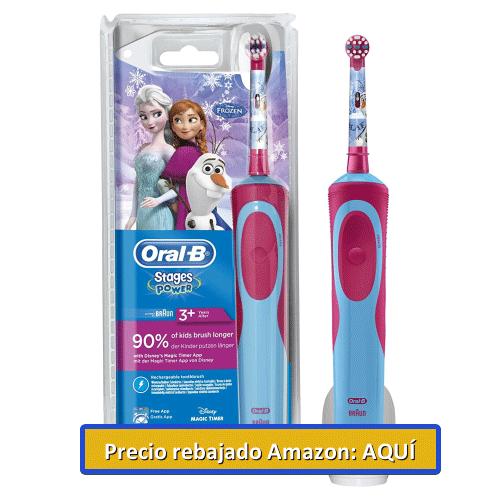 cepillo oral de frozen infantil