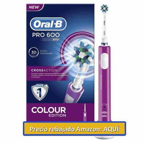 cepillo eléctrico de dientes OralB Pro 600