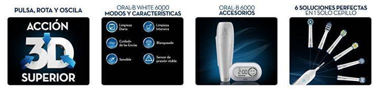propiedades del modelo 6.000 de oral-b